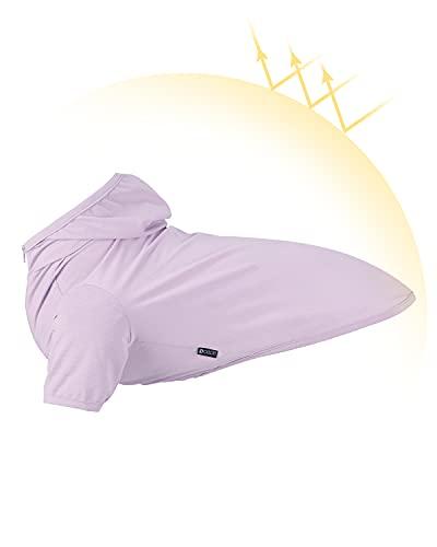 Dociote Hundekleidung T-Shirt mit Kapuze Hund Kapuzenpullis Mantel Pullover Sonnenschutz Kleidung für...