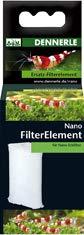 Dennerle 5926 Ersatz-Filterelement für Nano-Eckfilter
