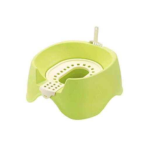 HUFFGOUT Kreative halb geschlossene Trainings-Toiletten-Kit- Haustierprodukte Kunststoff große Wurf-Box-...