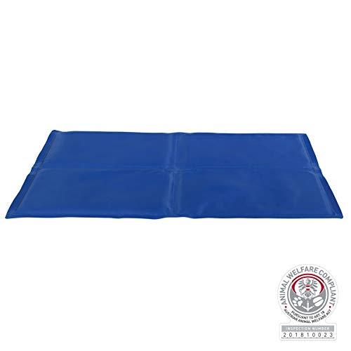 Trixie 28686 Kühlmatte, 90 × 50 cm, blau
