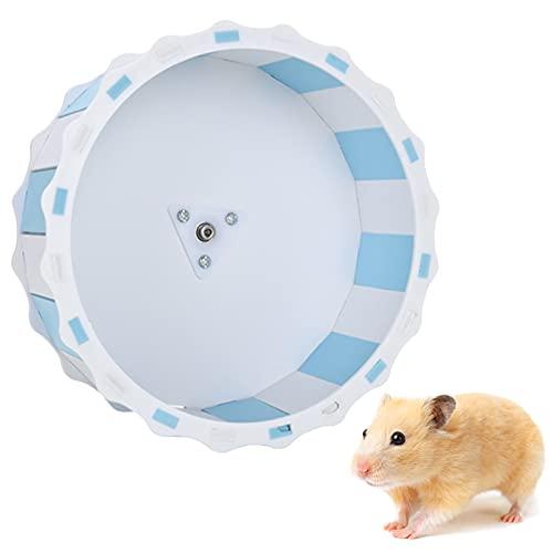 Bncxdc Hamsterrad, leises Hamsterrad, kleine Tierlaufräder, 17cm leises Laufrad, Hamsterrad Spielzeug...