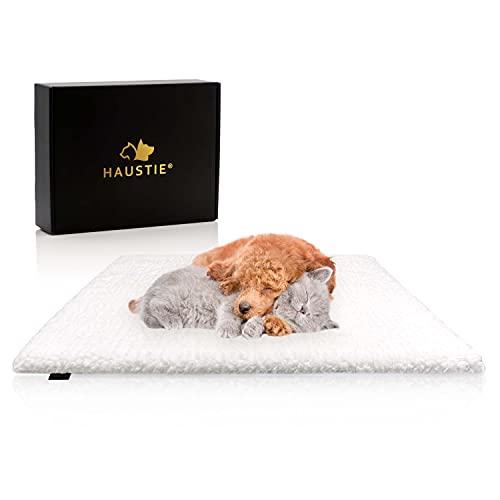 HAUSTIE® Selbstwärmende Decke für Katzen & Hunde - Extra Dick & Weich - rutschfest - Leicht Waschbar...