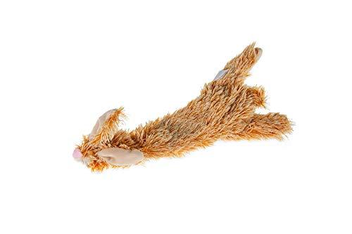 Karlie Plüschspielzeug Flatinos Hase L: 30 cm braun