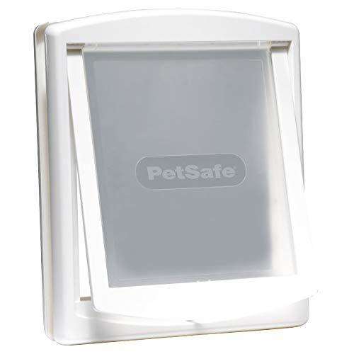 PetSafe Staywell Original Katzenklappe u. Hundeklappe, 2 Verschluss-Optionen inkl. Verschlussplatte,...