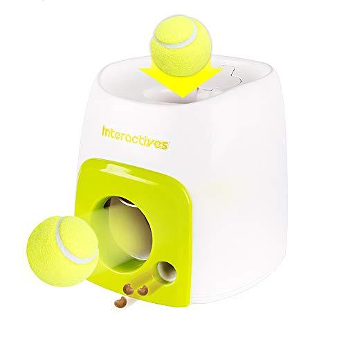Decdeal Automatisch Ballwerfer für Hunde Gutes Verhalten Trainieren Hunde Intelligenz Spielzeug All for...