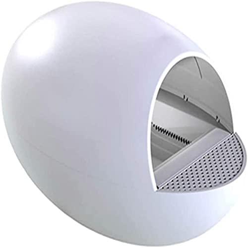 MOME Automatische Katzentoilette, geschlossene elektrische Reinigung Katzentoilette, intelligenter...