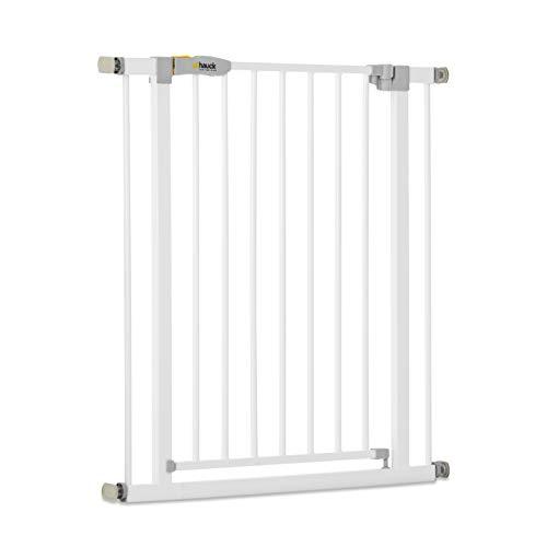 Hauck Open N Stop KD Türschutzgitter/Treppengitter, 75-80 cm, ohne Bohren/erweiterbar mit...