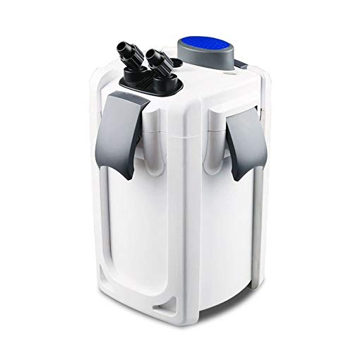 AquaOne Aquarium Außenfilter HW-704B 45W 2000 L/h bis 1000l Becken Filtermaterial Uvc Filter...