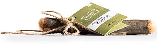 Chewies Kau-Knochen Hunde-Spielzeug aus Olivenholz, 100% natürliches Hundezubehör, Kauspielzeug Hund...