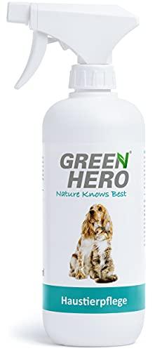 Green Hero Haustierpflege Pflegt die Haut bei Juckreiz Milben Pilz Räude Reizungen Läusen und...