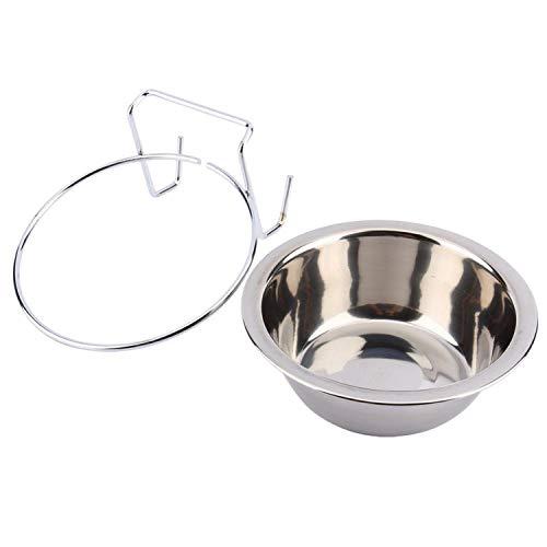 JOYOTER Edelstahl-Schüssel zum Aufhängen, für Haustiere, Vögel, Katzen, Hunde, Futter, Wassernapf,...