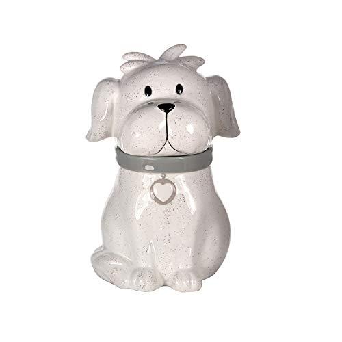 SPOTTED DOG GIFT COMPANY Keksdose Keramik Cookie Jar, Vorratsdose groß Luftdicht mit Deckel, Hund Deko...