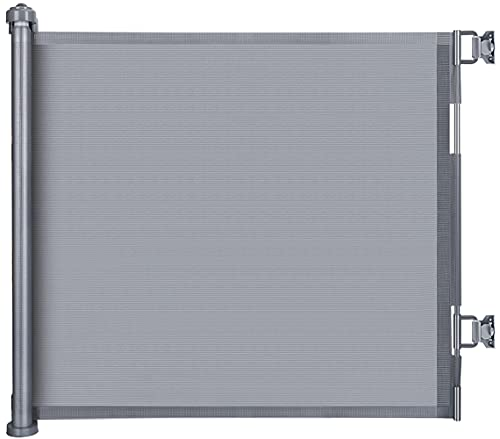 LSZE Treppenschutzgitter Ausziehbar Türschutzgitter 0-150 cm Einziehbares Tür- und Treppengitter für...