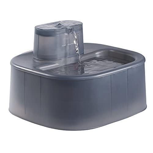 honeyguaridan 6L Automatischer Hunde & Katzen Trinkbrunnen mit 30dB ultraleise Wasserpumpe, Haustier...