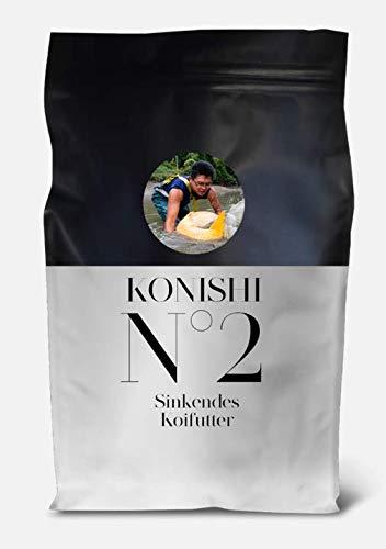 KONISHI Nr 2 Sink Neu Koifutter Fischfutter (3 x 5,0 kg)