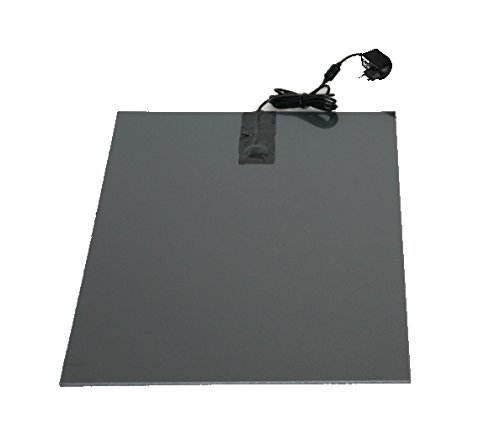 SAUERLAND Wärmeplatte PVC 230/24V 58 x 81 cm inkl. Trafo