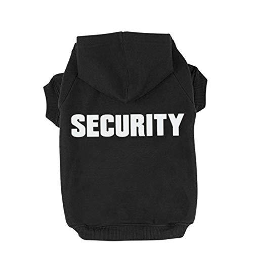 Trudz PET Hunde Kapuzenpulli Security Rdc Pet Bekleidung Hunde Shirt Wärmer Pullover Baumwoll Jackett...