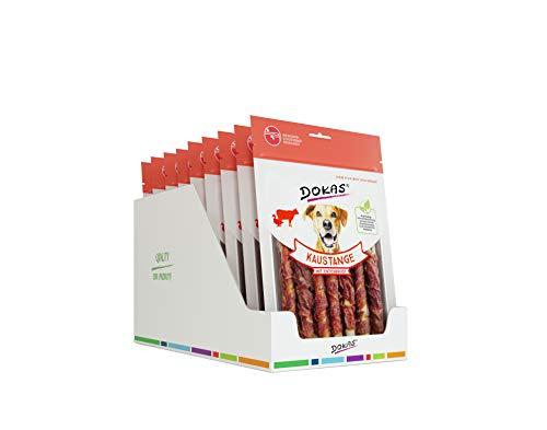 DOKAS Kaustange – Getreidefreier Premium Kausnack für Hunde 9er Pack (9x200g)
