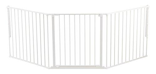 Baby Dan Konfigurationsgitter / Kaminschutzgitter Flex L, 90 - 223 cm - Hergestellt in Dänemark und vom...