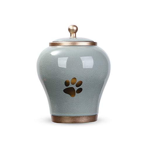 Youdear Memorials Handicrafts Haustier-Urnen, 16 cm hochwertige Urnen für Hunde und Katzen, geeignete...
