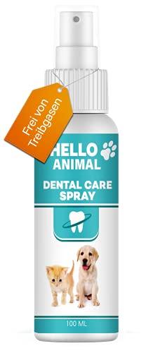 NEU: HelloAnimal® DENTAL Spray für Hunde und Katzen – Zahnsteinentferner auch für Zwischenräume -...