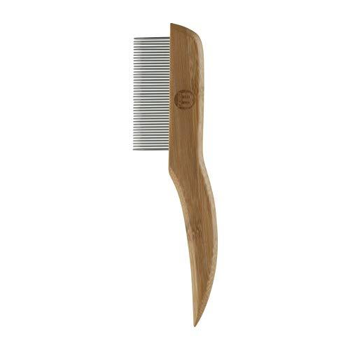 Mikki 6280021 Feiner Fellentfilzer aus Bambus, für glattes und mittellanges Fell, Für Hunde und Katzen,...