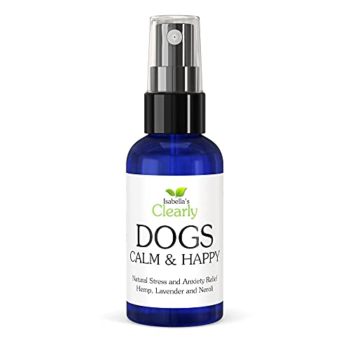Isabella's Clearly Calm & Happy for Dogs, Calming Aromatherapy with Lavender, Neroli, Petitgrain for...