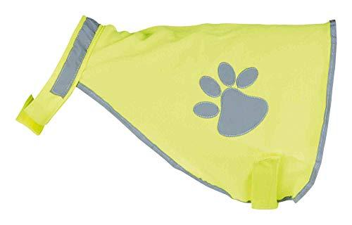 TRIXIE Sicherheitsweste für Hunde, Neongelb, M
