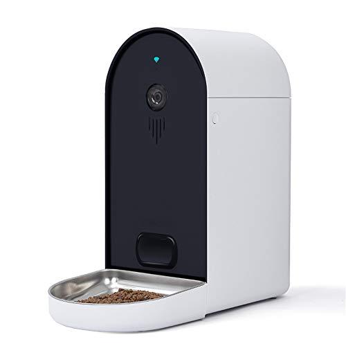 NBRTT Tierfutterautomat, intelligenter automatischer Hundefutterautomat, 6-Liter-Fernfütterungsschüssel...