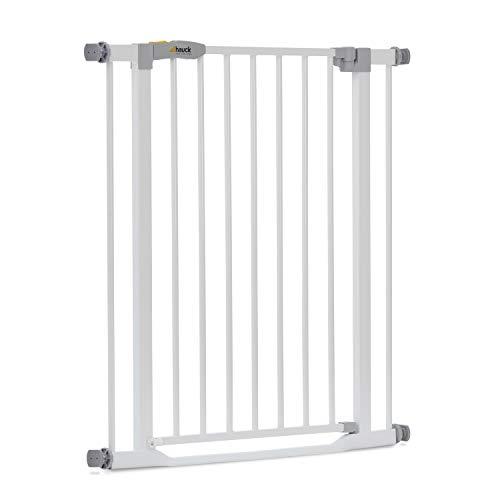 Hauck Türschutzgitter / Treppenschutzgitter für Kinder Clear Step Safety Gate / stolperfrei / ohne...