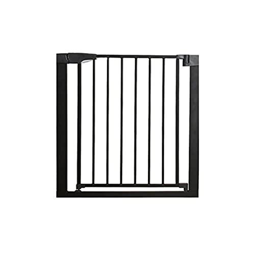 Treppenschutzgitter,Ohne Bohren Türschutzgitter für Haustier Kinder 90°Arretierung Absperrgitter 7cm...