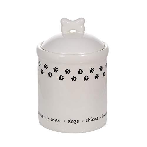 SPOTTED DOG GIFT COMPANY Keramik Vorratsdose mit Deckel, Küchen Aufbewahrungsdose, Küche Aufbewahrung...
