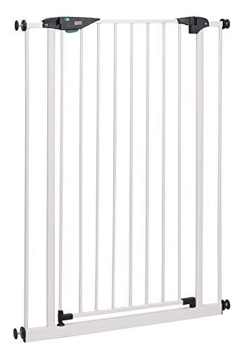 BOMI Treppenschutzgitter 73-161 cm | Extra breit und hoch | Ohne Bohren | Schließt automatisch |...