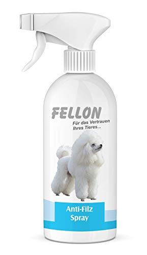 Fellon Anti Filz 500 ml für Hunde | Entfilzungsmittel | Entfilzungsspray | Entfilzung für Hunde |...