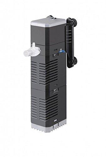 AquaOne Chj-502 Aquarium Innenfilter Regelbar Bis 150 Liter Aquarien Nano Cube Eckfilter Pumpe Filter...