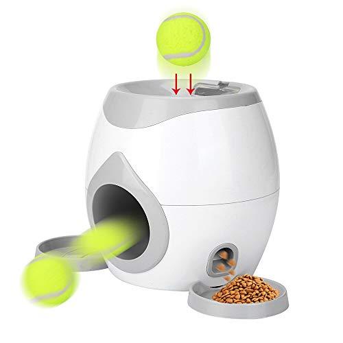 Automatischer Ballwerfer, interaktive Hundebehandlung, IQ-Trainingsspielzeug, Tenniswerfer,...
