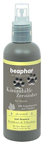 Premium Kämmhilfe Zerstäuber | Fell-Pflege für Hunde | Entfilzungsspray mit Shea-Butter | Spray zum...