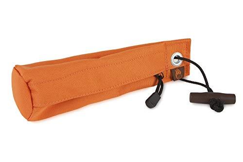 Firedog Futterdummy Trainer für Hunde, groß in orange