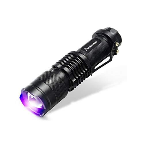 Schwarzlicht UV-Taschenlampe LED UV-Urindetektor für Hunde- / Katzen- / Haustierurin & Trockenflecken...