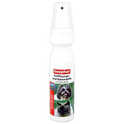 beaphar Entfilzungs- und Kämmhilfe | Pflege für Hunde und Katzen | Entfilzungsspray mit Mandelöl |...