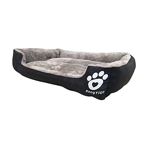Haustierbett für kleine/mittel/große/extra große Hunde, super weiches Haustier-Sofa, Katzenbett,...