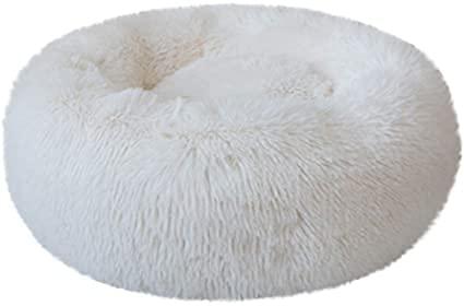 WLGQ Katzenbett, beruhigendes Hundebett, Puffkissen für große mittelgroße Hunde