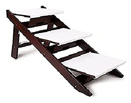 Haustierhundauto-Schritt-Leiter, faltende Fahrrad-Hunde-Stufen-Haustreppen, einstellbare Haustierrampen...