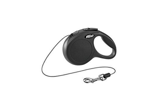 flexi New Classic XS Seil 3 m schwarz für Hunde bis 8 kg
