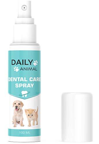 PowerSupps Daily Animal DENTAL Spray für Hunde und Katzen – Zahnreinigung und Zahnpflege –...