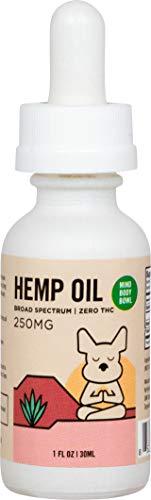 Healthy Spot / Mind Body Bowl - Hanf und MCT Öl für Hunde und Katzen, biologisch angebaut in den USA,...