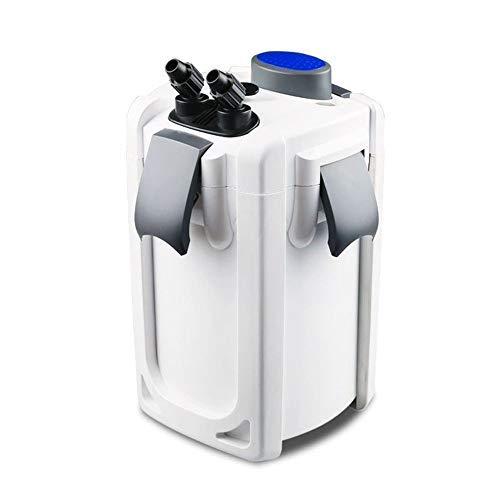 AquaOne Aquarium Außenfilter HW-703A 30W 1400 L/h bis 700l Becken Filtermaterial Pumpe Filter...