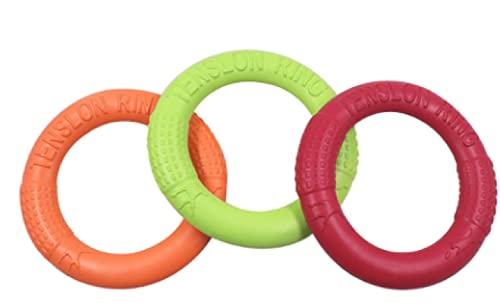 Dr&Phx Für Spielzeug Pet Flying Discs Eva Dog Training Ring Puller Bissfest Schwimmspielzeug Welpe...