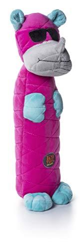 Petstages 69492M Bottle Bros - Quietsch-Spielzeug für Hunde - Nashorn - knisternd & robust - L,...