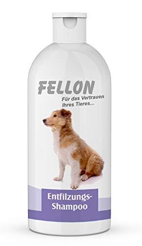 Fellon Entfilzungs Shampoo für Hunde | 500 ml | Hundeshampoo | Löst verfilzungen sanft und schonend |...